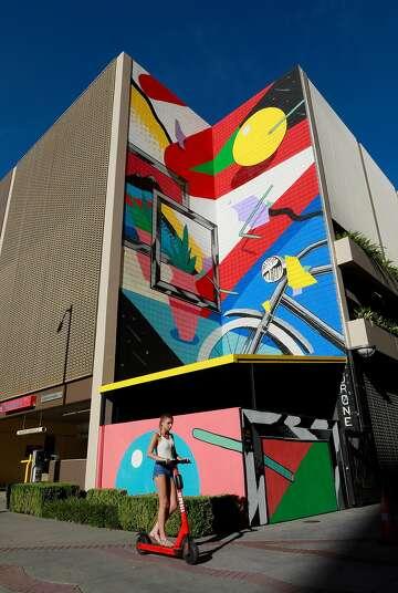 Mural in Downtown Sacramento