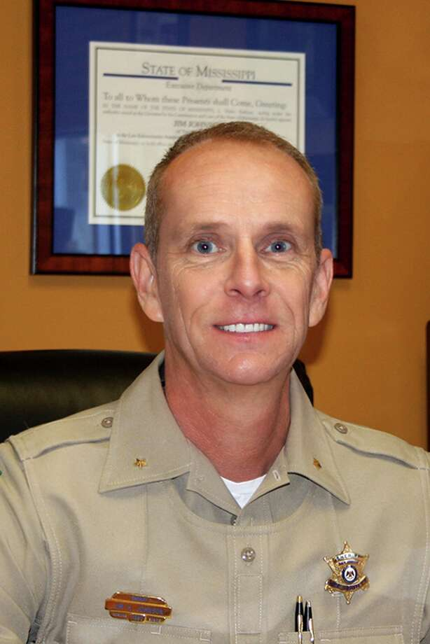 Lee County Sheriff Jim Johnson, Lee County, Mississippi. Photo: Lee County