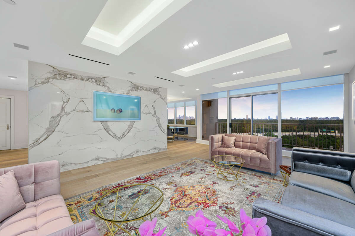 This newly renovated condominium at The Houstonian Estates just hit the market at $1.749 million.