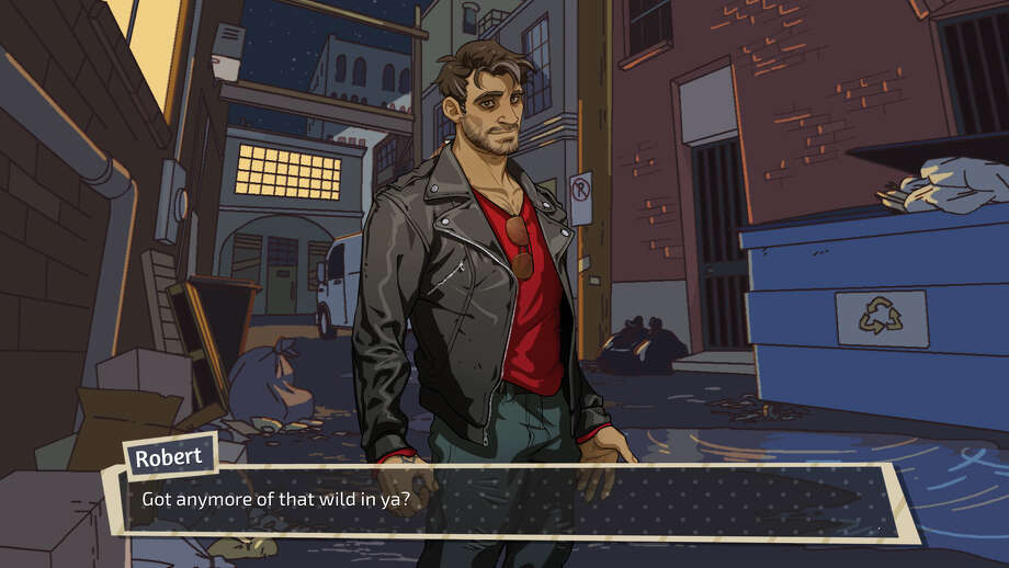 Robert the Bad Boy... Dad? Photo: Dream Daddy Game