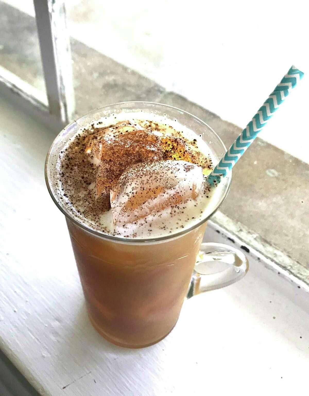 PB&O Whiskey Oat Milk Cocktail