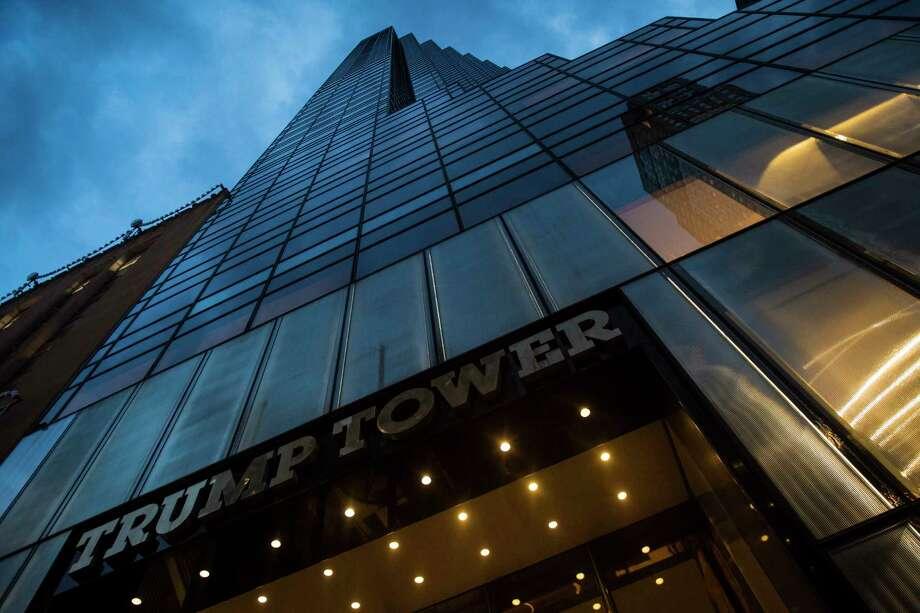 Trump Tower in New York City. Photo: Washington Post Photo By Jabin Botsford. / The Washington Post