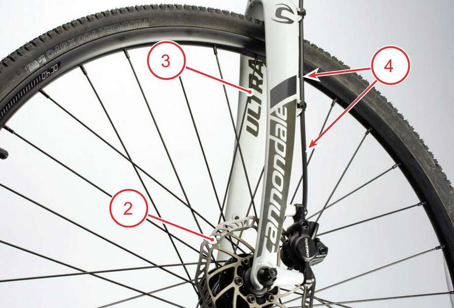 Affected bicycles have several of the features shown. Photo: Contributed Photo / Cannondale / Wilton Bulletin Contributed