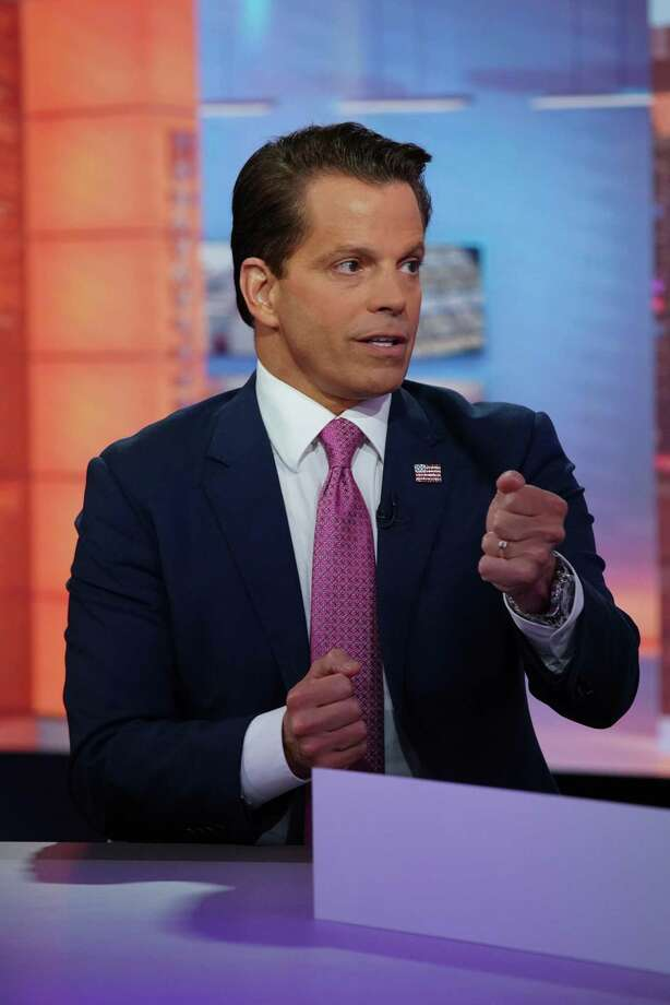 "Anthony Scaramucci, former director of communications for the White House, stood by his friend Donald Trump despite his flaws on Friday's ""Real Time with Bill Maher."" But things changed over the next 36 hours. Photo: Christopher Goodney /Bloomberg / © 2019 Bloomberg Finance LP"