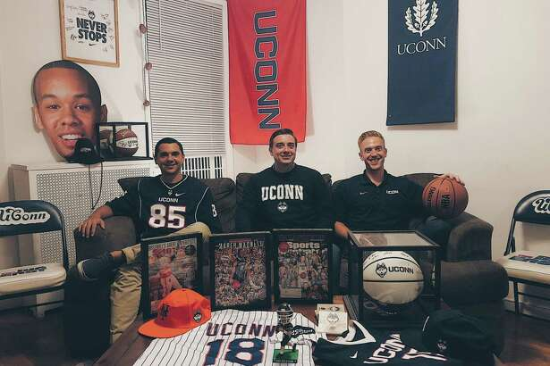 Orange's Jeremy Longobardi, North Haven's Kevin Korstep and New Jersey's Kevin Solomon, all UConn grads, founded the Husky Ticket Project, which sends underprivileged kids to UConn games through donations.
