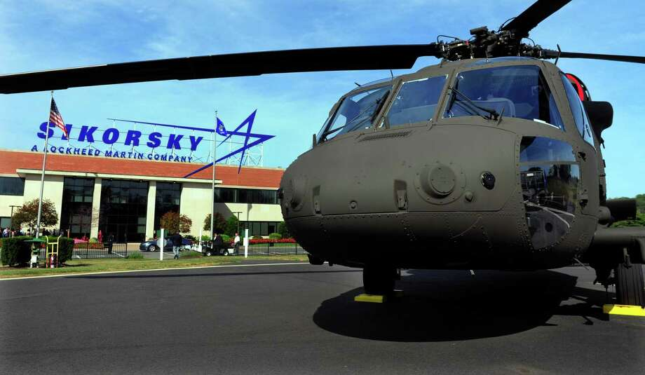 Sikorsky Aircraft, a Stratford-based unit of Lockheed Martin, is among the giant defense contractors that could form a bulwark for the state in the coming recession. Photo: Christian Abraham / Hearst Connecticut Media / Connecticut Post
