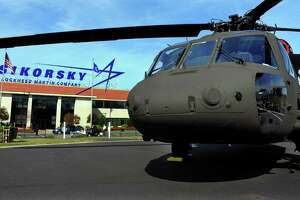 Sikorsky Aircraft, a Stratford-based unit of Lockheed Martin, is among the giant defense contractors that could form a bulwark for the state in the coming recession.