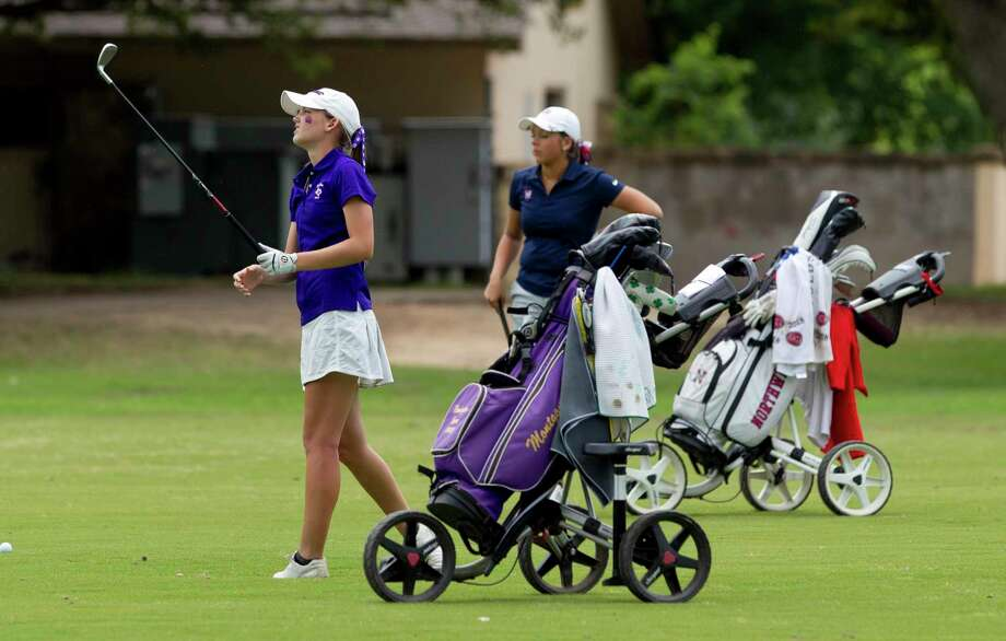 Montgomery High School student Remington Isaac, shown here during the UIL State Tournament this past May, recently competed at the U.S. Women's Amateur in Mississippi. Photo: Jason Fochtman, Houston Chronicle / Staff Photographer / © 2019 Houston Chronicle