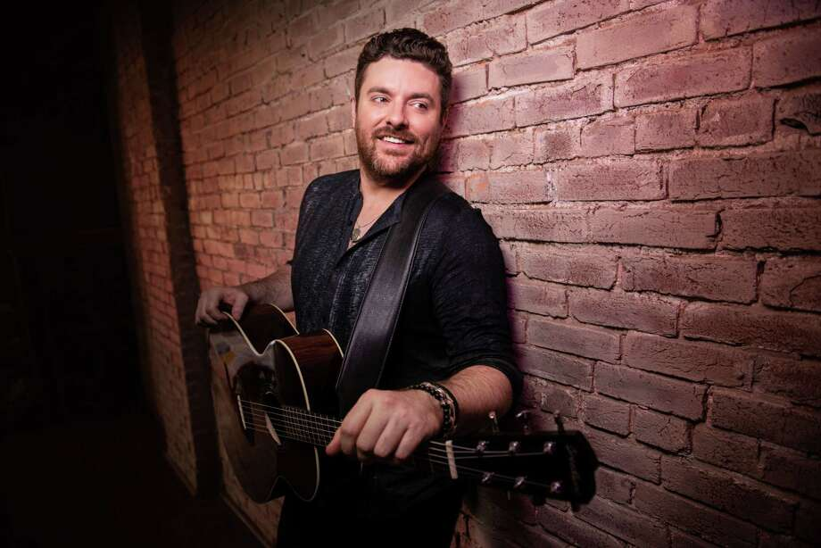 "Chris Young had ""too much"" fun at Y100's 8 Man Jam on Wednesday at the Majestic Theatre. Photo: John Shearer"