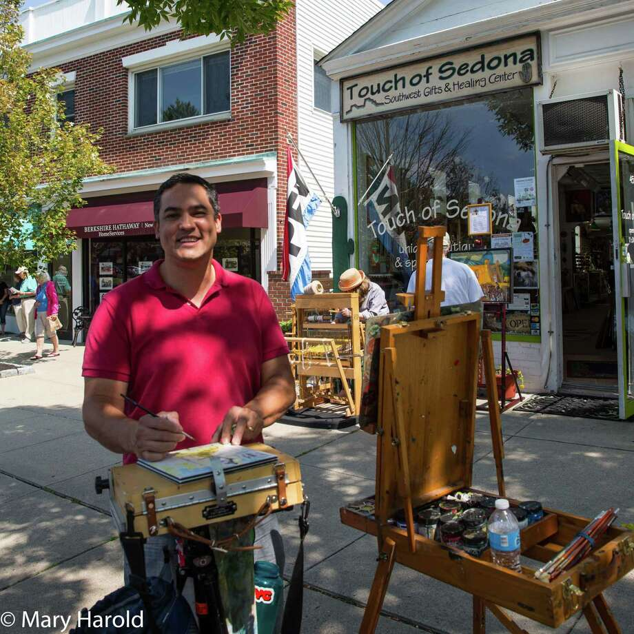 David Llanos will participate in Art Walk 2019, showing his works at Touch of Sedona on Main Street. Photo: Photo By Mary Harold. / Copyright 2015  Mary Harold
