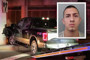 A pursuit reported Tuesday night ended with the suspect vehicle crashing by San Bernardo Avenue and Mann Road, according to the Webb County Sheriff's Office.