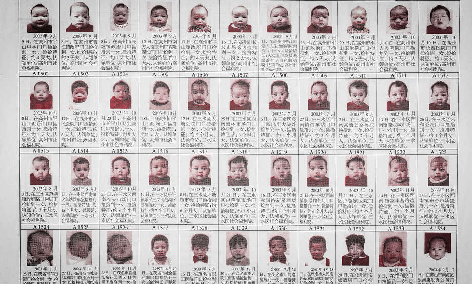 "The documentary ""One Child Nation"" examines a Chinese policy that forbade families from having more than one child. Many children, as shown above, were put up for adoption. Photo: Handout Photo From Amazon Studios / Handout"