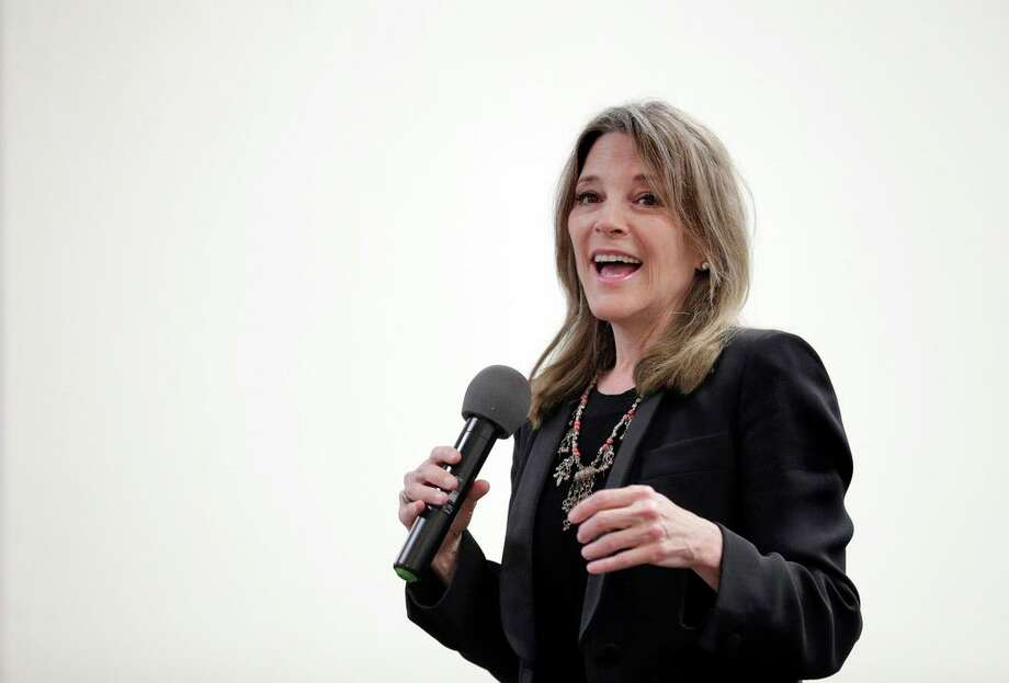 Presidential candidate Marianne Williamson Photo: Carlos Avila Gonzalez / The Chronicle / ©San Francisco Chronicle/Carlos Avila Gonzalez