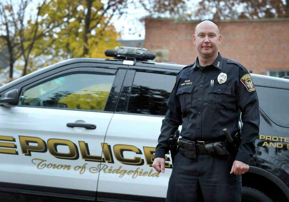 Ridgefield Police Chief Jeff Kreitz  highest paid employee in Ridgefield's 2018-19 town operating budget Salary: $146,500 Photo: Carol Kaliff / Hearst Connecticut Media / The News-Times
