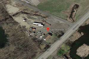 A satellite image of 25 Miry Brook Road, which Danbury is considering buying.