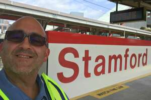Anthony Scasino is a Metro-North Customer Service Ambassador at the Stamford train station.