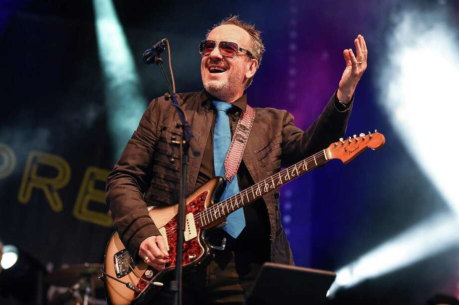 "Elvis Costello & The Imposters will bring their ""Just Trust"" tour to the Capitol Theatre in Port Chester, N.Y., on Oct. 29-30. Photo: Tabatha Fireman / Redferns / 2018 Tabatha Fireman"