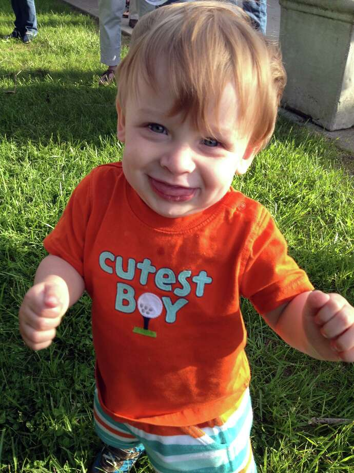 """Benjamin Seitz, the 15-month-old son of Kyle and Lindsey Rogers-Seitz of Ridgefield, died July 7, 2014, after his father left him in the car for what police called """"an extended period of time."""" Photo: Contributed Photo / Contributed Photo / The News-Times Contributed"""