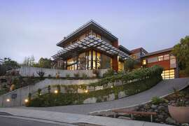 5950 Margarido Drive in Oakland was the first LEED-H Platinum-certified home in Northern California, a distinction that highlights the home's efficiency and conservation of resources.