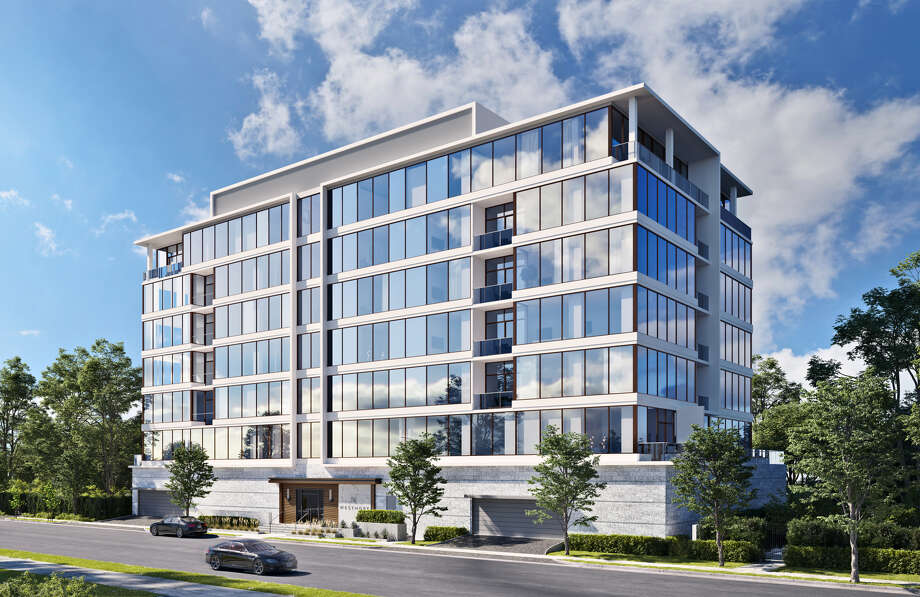 The Mirador Group designed the proposed Westmore, a 7-story condominium building in Upper Kirby. Photo: Courtesy Of Pelican Builders