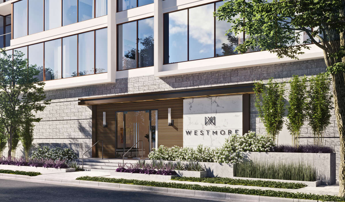 The Mirador Group designed the proposed Westmore, a 7-story condominium building in Upper Kirby.