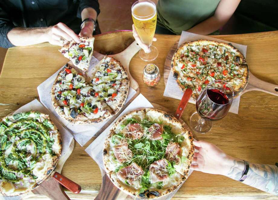 A selection of pizzas from 188 South in New Braunfels. Photo: Giant Noise