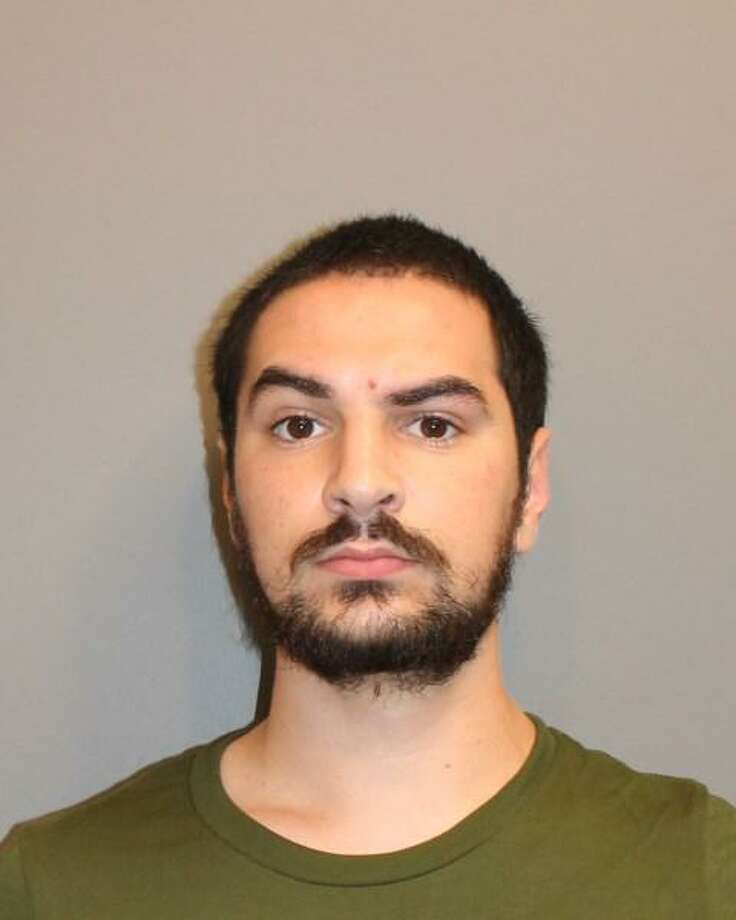 Brandon Wagshol, 22, of Norwalk, was charged with four counts of illegal possession of large capacity magazines after he was arrested Thursday in a joint investigation between Norwalk police and the Federal Bureau of Investigation. Photo: Contributed Photo / Norwalk Police Department