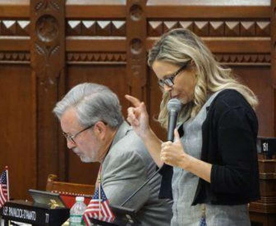 Cara Pavalock-D'Amato Photo: Mark Pazniokas / CTMirror.org