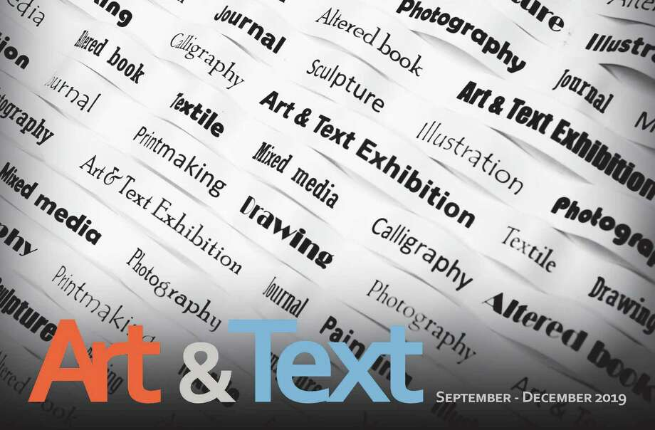The New Canaan Library will examine text as art in a new exhibit. Photo: Contributed Photo / New Canaan Library / New Canaan Advertiser Contributed