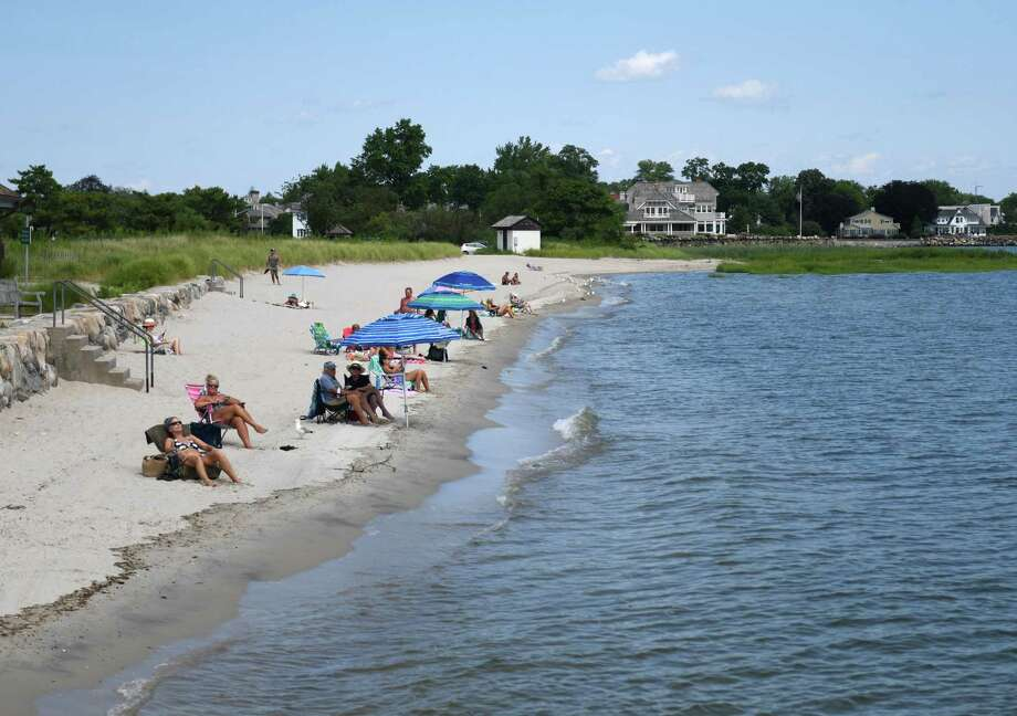 If you are not a seasonal pass holder, a trip to Greenwich's beaches is likely to be a little bit more expensive. The Board of Selectmen will vote on the town's parks and recreation fees next month. Photo: Tyler Sizemore / Hearst Connecticut Media / Greenwich Time