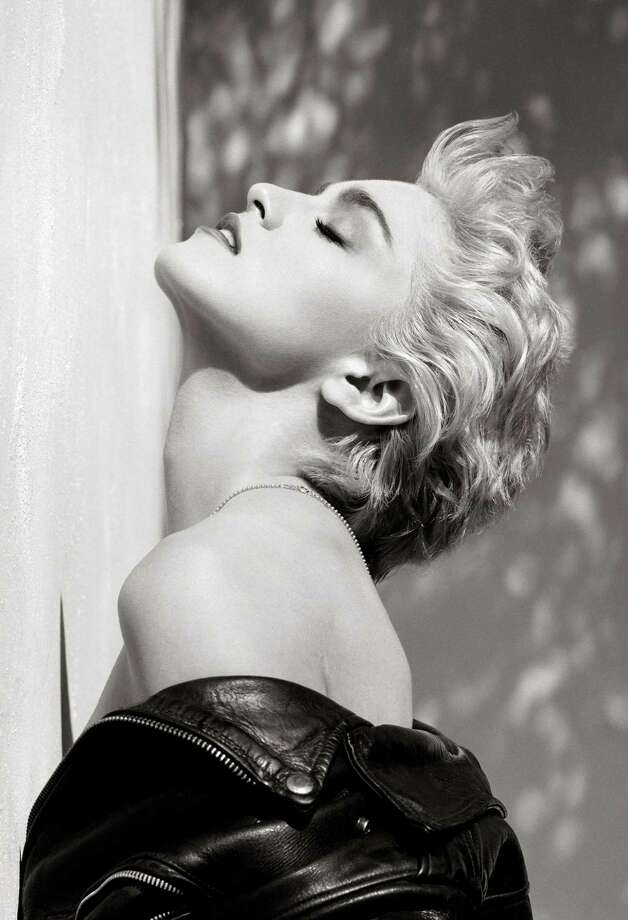 Herb Ritts Madonna True Blue Profile Hollywood 1986.  Herb Ritts Foundation