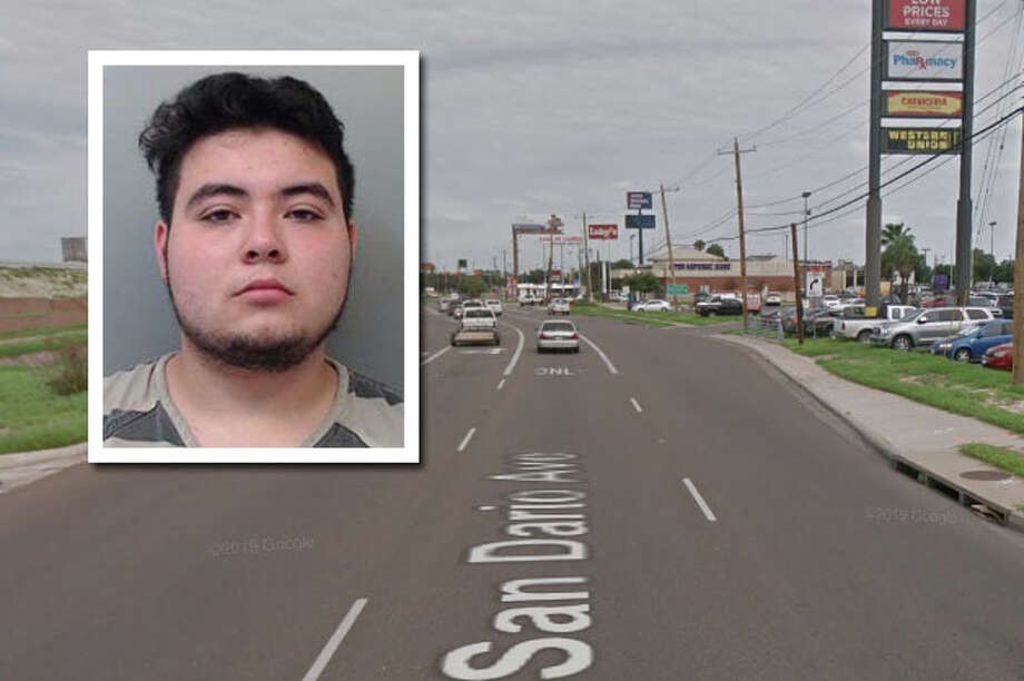 A suspicious vehicle report landed one man behind bars, according to Laredo police. Photo: Courtesy