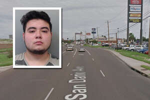 A suspicious vehicle report landed one man behind bars, according to Laredo police.