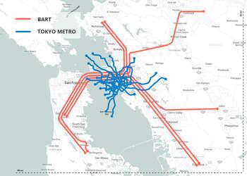 Naples Subway Map.Bart Subway Map