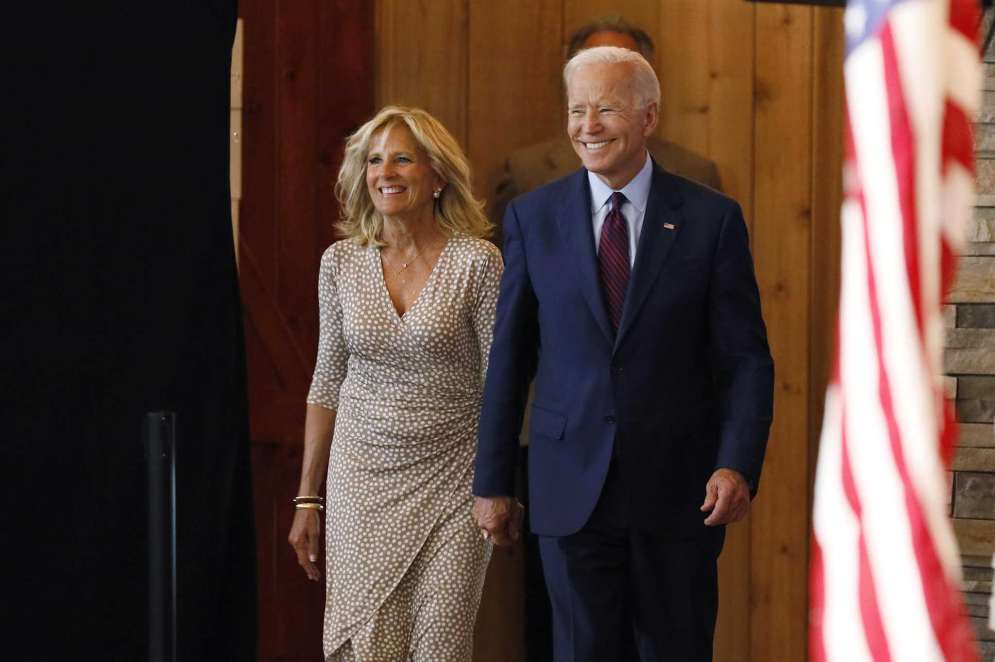 Joe Biden's wife to campaign in Connecticut