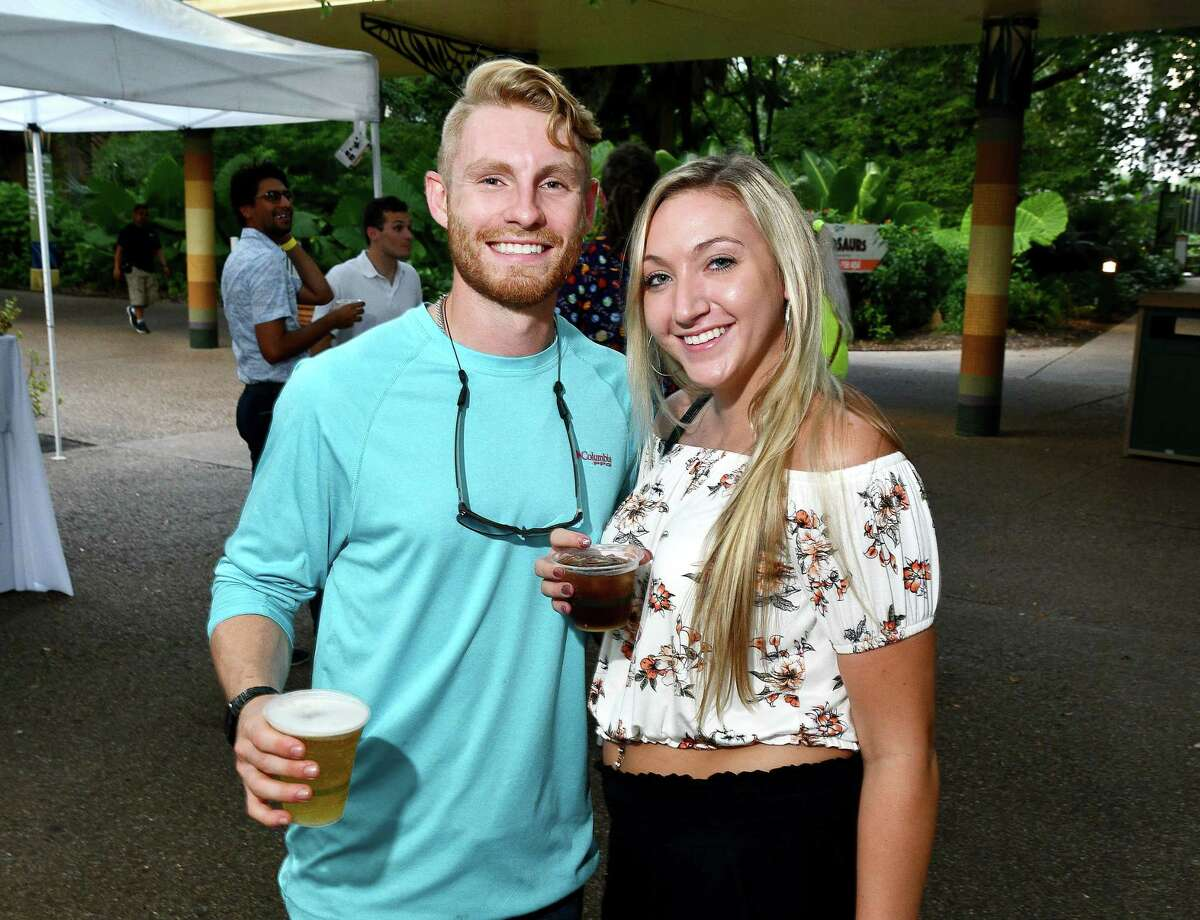 Guests and animals alike brave the heat and humidity for the