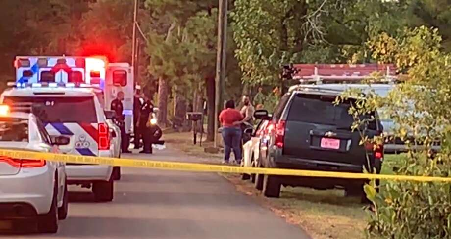 Two children were found dead Thursday in a small pond near Conroe, according to the Montgomery County Police Reporter. A third child was taken to a hospital, authorities say. Photo: Montgomery County Police Reporter