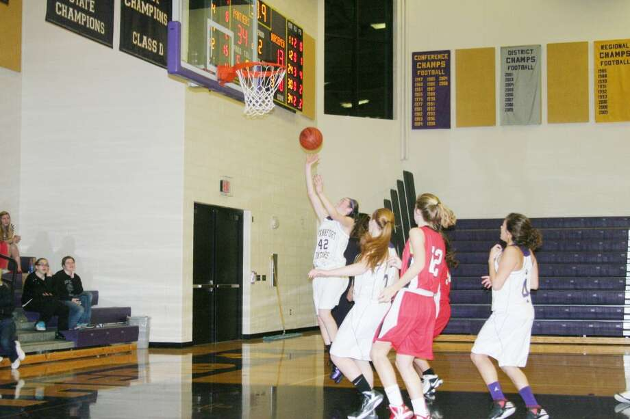 MacKenna Kelly: led the team with 21 points in the game. (Photo/Bryan Warrick)