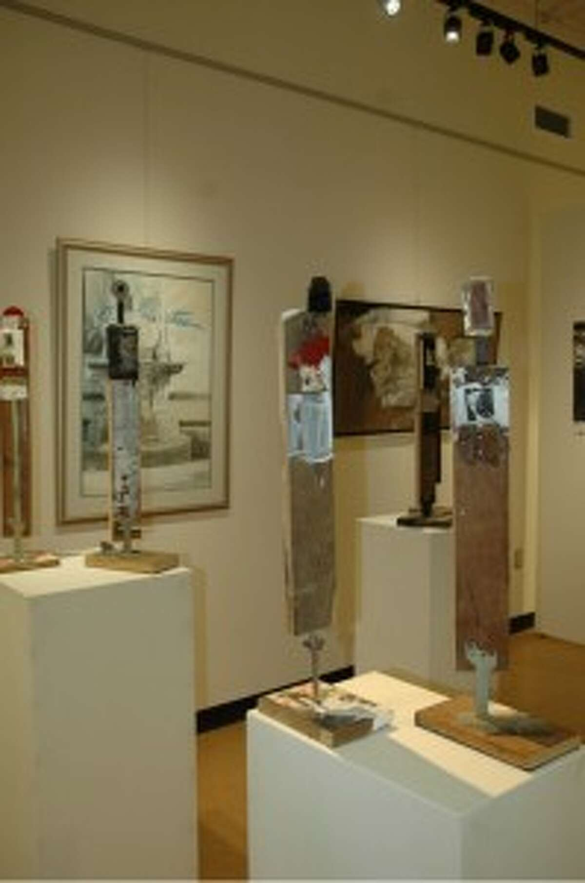 IRONWORKS: The art of Ken Cooper will be showcased at West Shore Community College's Manierre Dawson Gallery until Feb. 20. (Courtesy Photo)