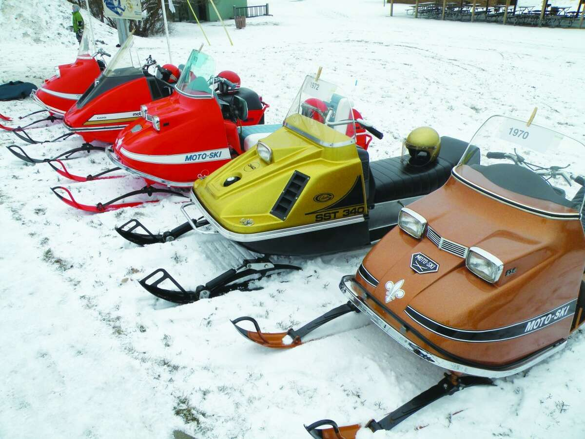 Classics: Classic snowmobiles will be on display at Shiver by the River, giving visitors a chance to see how the winter vehicles evolved over the years. Shiver itself evolved out of a need to get people out and moving in Frankfort during the winter, as well as entice visitors from afar.