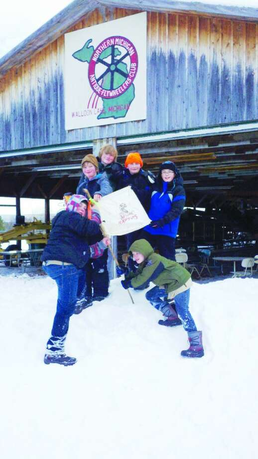 Proud: Boy Scout Troop 267 took 4th place out of 29 troops participating in a winter survival event that had participants completing team-based tasks with simulated disabilities, such as blindness and amputations. (Courtesy Photo)