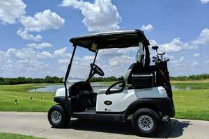 The 75 new golf carts at the Max A. Mandel Municipal Golf Course feature GPS, geo-fencing technology, two USB ports and live streaming of news, sports and music.