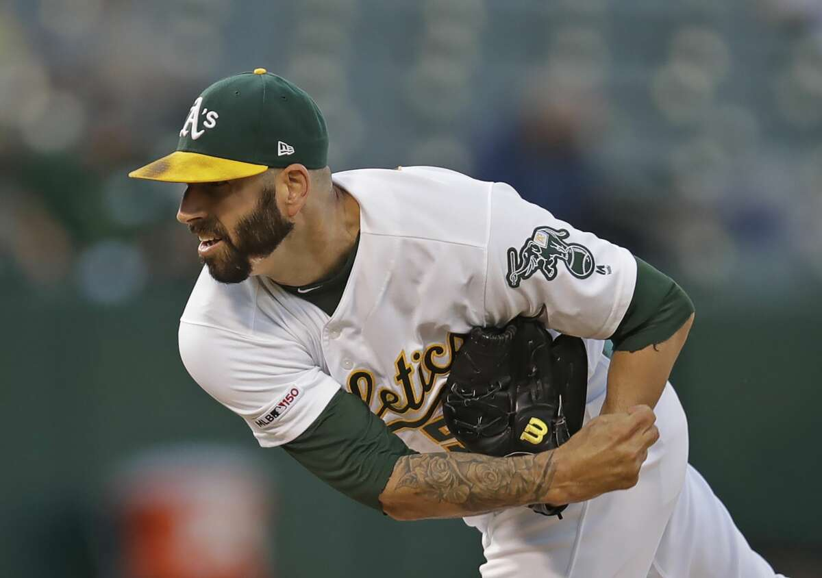 Former Astros pitcher Mike Fiers, now with the A's, started the sign stealing investigation with his interview with the Athletic.