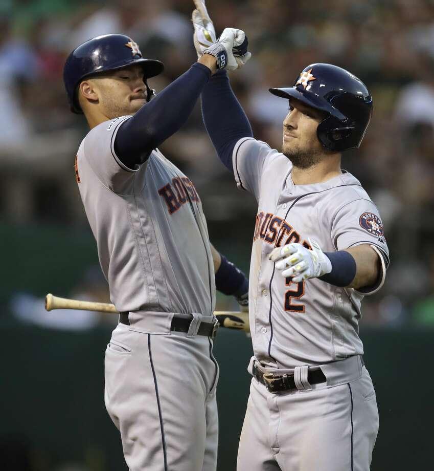 Aug. 15: Athletics 7, Astros 6