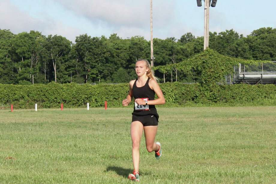 Senior Faith Grose has already been a part of one state runner-up team and looks to be a key member of Benzie Central's deep 2019 team. (Photo/Robert Myers)