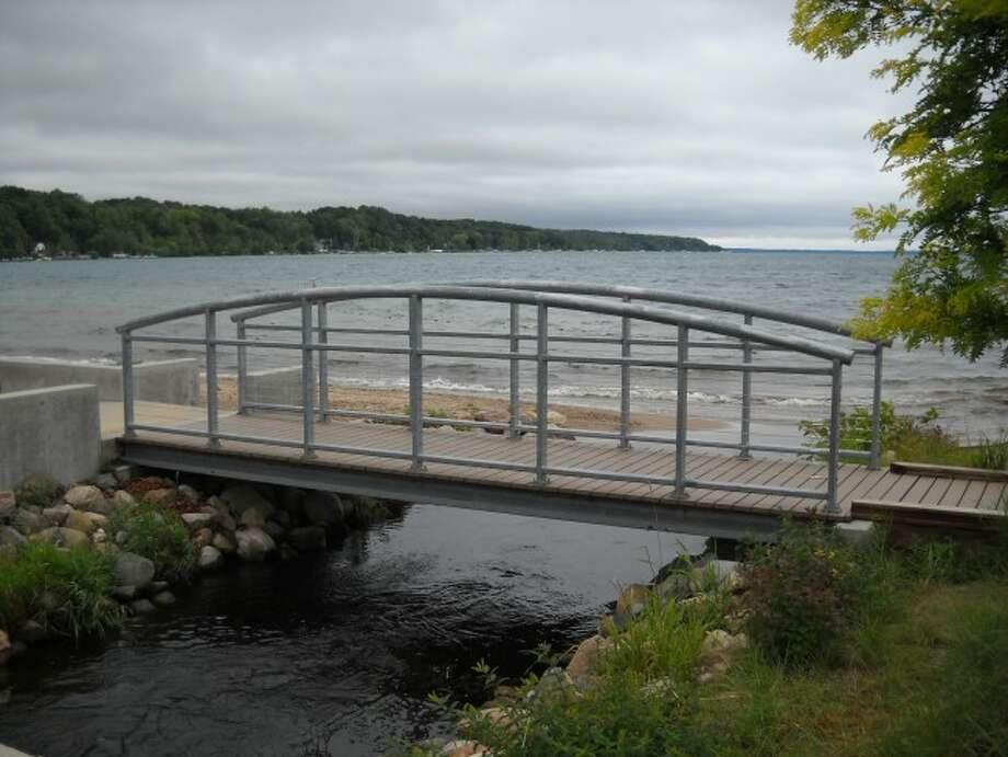 OVER THE RIVER: The Cold Creek Bridge Walk will showcase the waterfront rest
