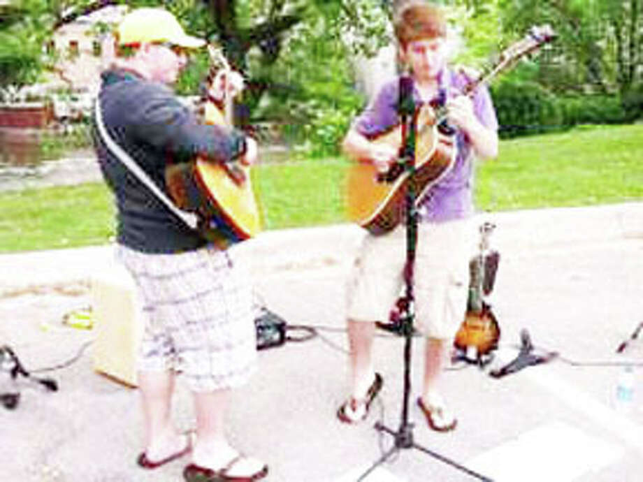 LOCAL TALENT: The Manistee-based band, Awesome Distraction, will be performing at Grow Benzie's fifth birthday party and farmer's market on Labor Day. Awesome Distraction is made up of area teens and recently performed their bluegrass-style music at the Traverse City Film Festival. (Courtesy Photo)