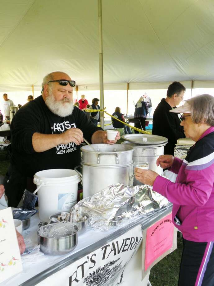TASTE-TEST: The Taste of Benzie gives residents and visitors the chance to try samples of area restaurants' signature dishes. This year, the tasting event will feature beverages made by local wineries and breweries. (Photo/Colin Merry)