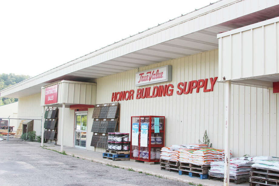 AWARD-WINNING: Honor Building Supply was chosen out of a pool of 12 applicants to win the Outstanding Business of the Year Award, awarded by the Benzie County Chamber of Commerce. (Photo/Colin Merry)