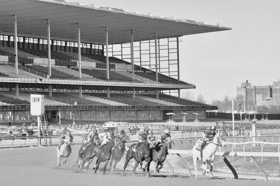 Aqueduct Race Track in Queens has been the site of a possible racino for nine years as the prospects of live racing decline. Photo: PHILIP KAMRASS / ALBANY TIMES UNION